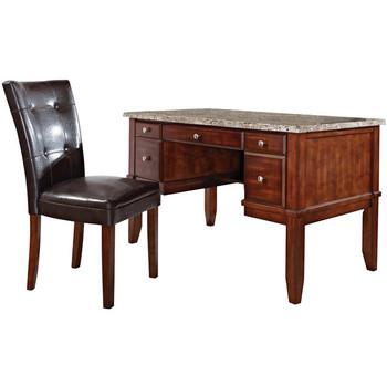 """ALDONZA 52"""" Wide Desk & Chair"""