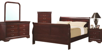 Lafayette Cherry Bedroom Set