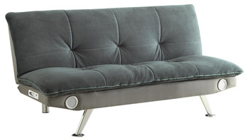 Noir Gray Sofa Bed with Bluetooth