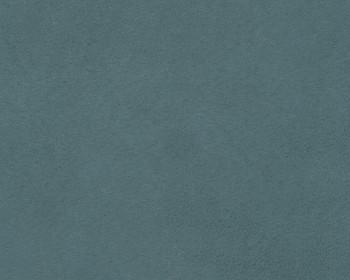 Edeline Sky Blue Plush Ottoman