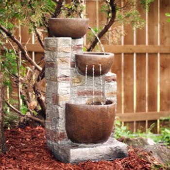 Gardenia Outdoor Fountain