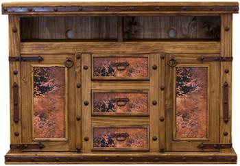 Brock Copper TV Dresser