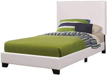 Johan White Platform Bed