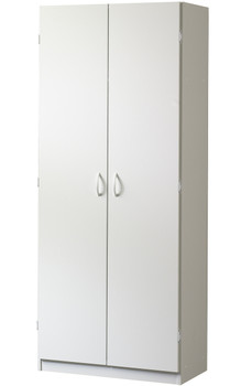 Origins White Storage Cabinet