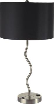 "Kipling Black 28""H Table Lamp"
