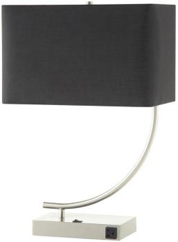"Murlin Black 22.5""H Table Lamp"