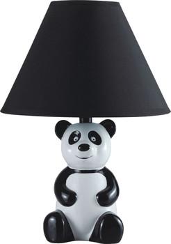 """Panda Black 14""""H Table Lamp"""