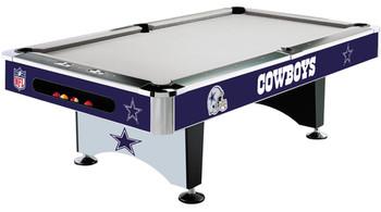 Dallas Cowboys 8-FT Pool Table