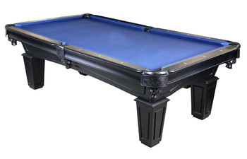 The Knight 8-FT Black Pool Table