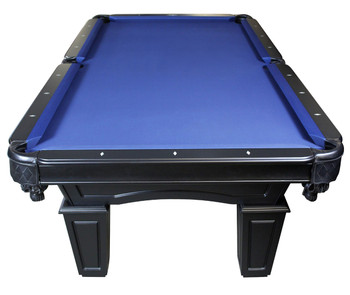 The Knight 7-FT Black Pool Table