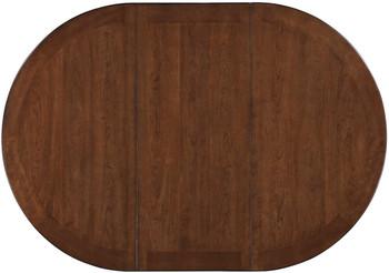 Kileen Chestnut Storage Counter Table