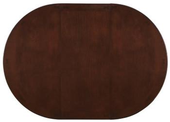 Kileen Dark Brown Storage Dining Table