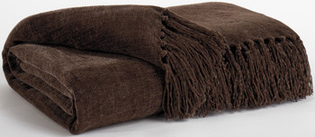 Delia Brown Decorative Throw
