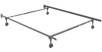 KEYSTONE Twin, Full, Queen Bed Frame with Rollers
