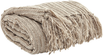 Tabby Almond Decorative Throw