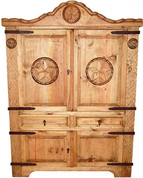 Lariata Natural Armoire