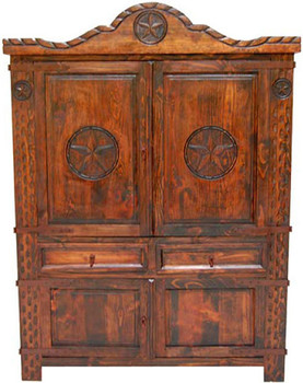 Lariata Brown Armoire