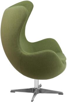 Cruz Green Accent Chair