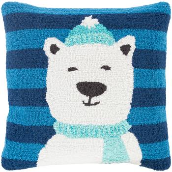 Designer Polar Bear Throw Pillow
