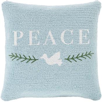 Designer Peace Pillow