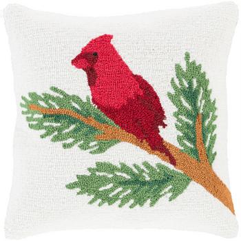 Designer  Cardinal Throw Pillow
