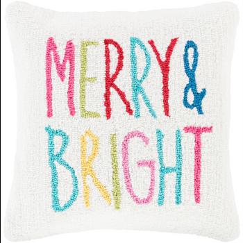 Designer Merry Throw Pillow
