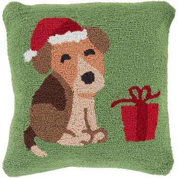 Designer  Dog Throw Pillow