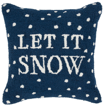 """Designer """"Let it Snow"""" Pillow"""