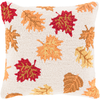 Designer Fall Leaves Pillow