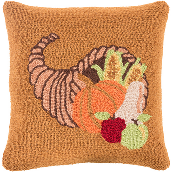 Designer Autumn Harvest Pillow