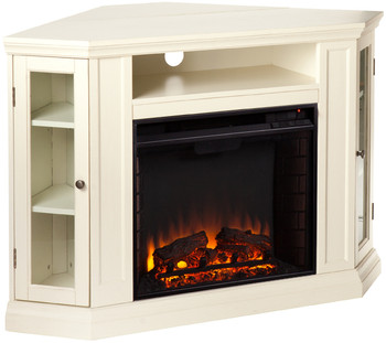 "Kendall White 46"" Fireplace"