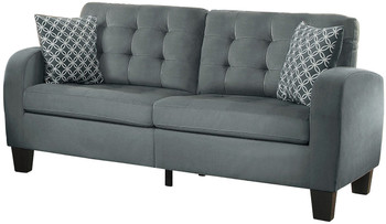 Bayley Gray Sofa & Loveseat