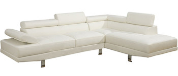 Pax White Sectional