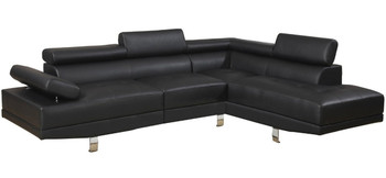 Pax Black Sectional