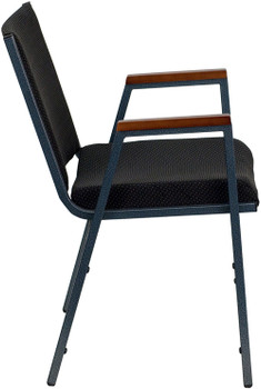 Yair Black Arm Office Chair