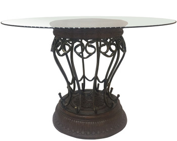 Janette Metal Dining Table