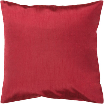 Felicia Designer Dark Red Pillow