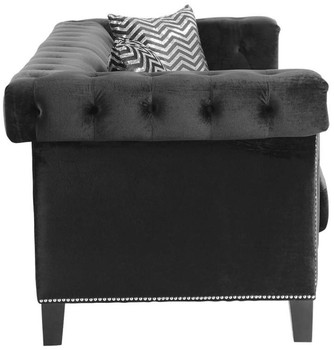 Locklear  Black Chair