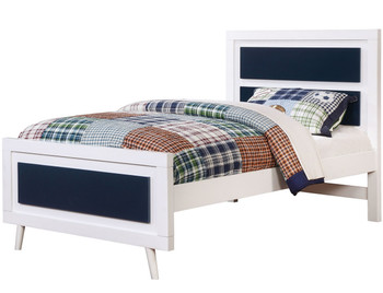 Aarin Blue Bedroom Set