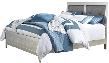 Rianni Silver Bedroom Set