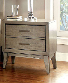 Solana Gray Nightstand