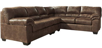 Bronco Brown Large Sectional