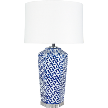 Nikki Blue Table Lamp