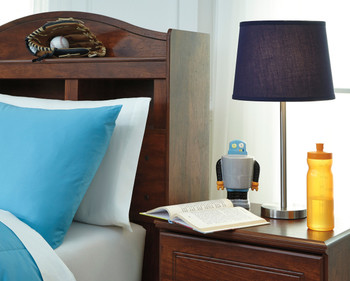 "Rand Blue 23"" Table Lamp"