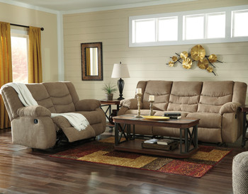 SARGE Mocha Reclining Livingroom