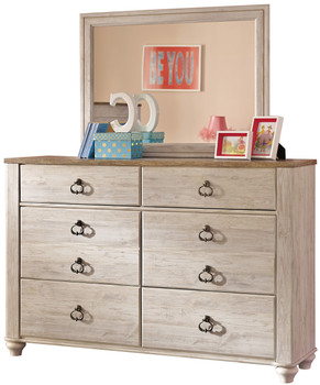Cresthill Youth Dresser & Mirror