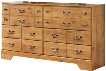 Barrowhill Pine Dresser & Mirror
