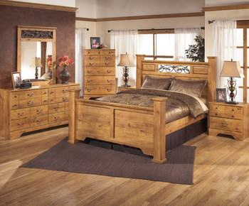 Barrowhill Pine 5-Drawer Chest