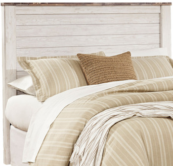 Cresthill White Headboard