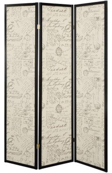 Typography Room Divider